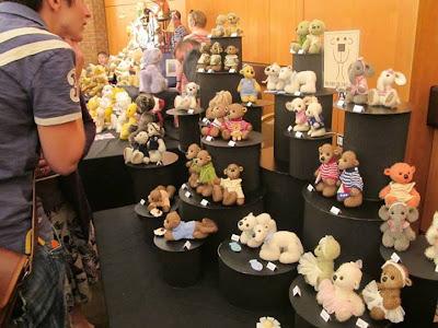 mohair bear, artist bear, polar bear