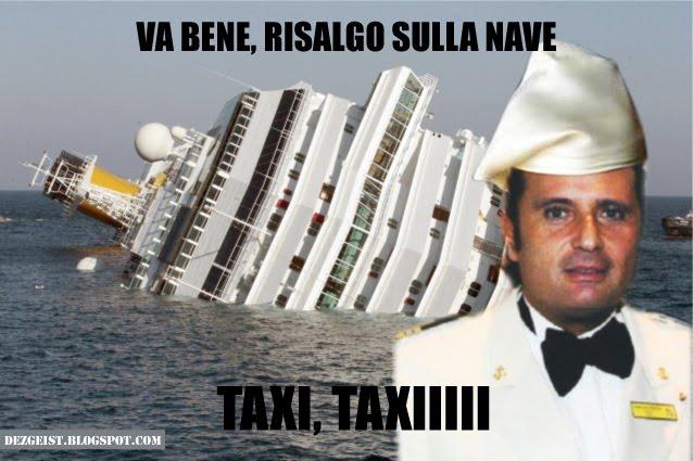 va bene, risalgo sulla nave...taxiiii