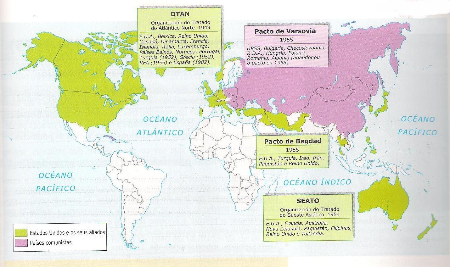 Alianzas militares otan
