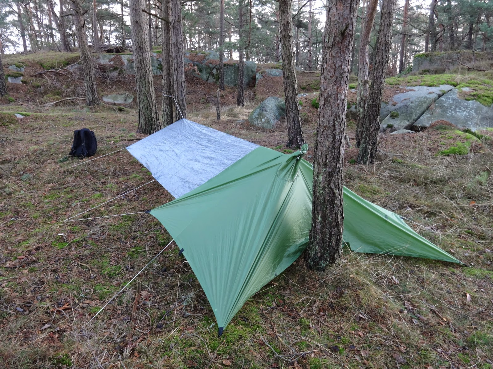 Tarp Tent With Floor & Fully Enclosed Tent With Floor From ...