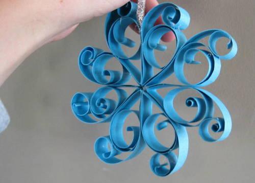 A desire to inspire paper ornaments aplenty - Manualidades en papel ...