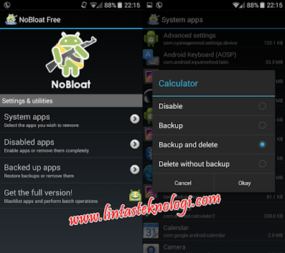 cara Uninstall Aplikasi Android