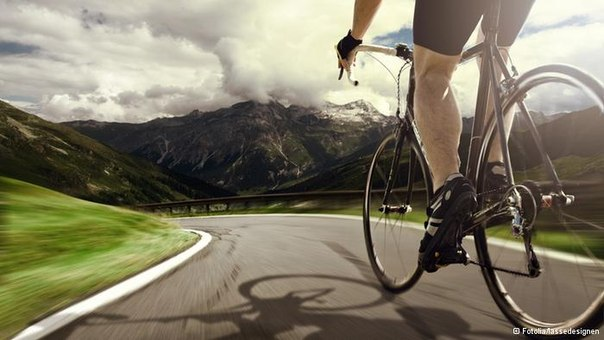 Дорога велосипед