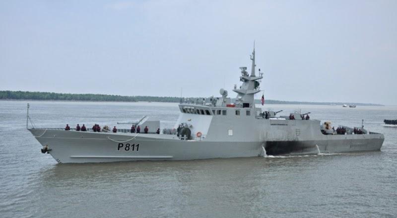 Bangladesh Navy's Stealth Corvette BNS Durjoy