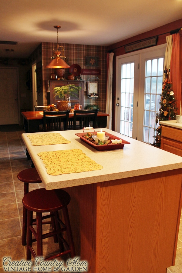 Creative country mom 1000th post warm winter touches in for Kitchen 87 mount holly nj