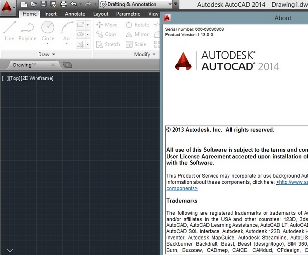 autocad 2013  with crack 64 bit for windows 8