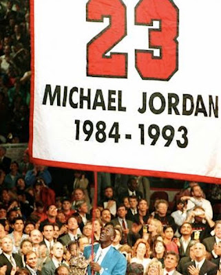 retirada número 23 Michael Jordan