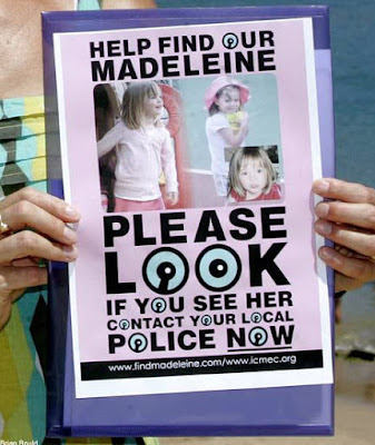 Why have the McCanns lied about Maddie's coloboma for 4 years? Kate%2Bwith%2Bposter