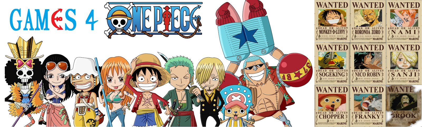 One-Piece Games | Android, PS, PC, Online
