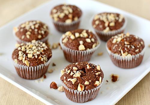The Galley Gourmet: Nutella Fudge Brownie Bites