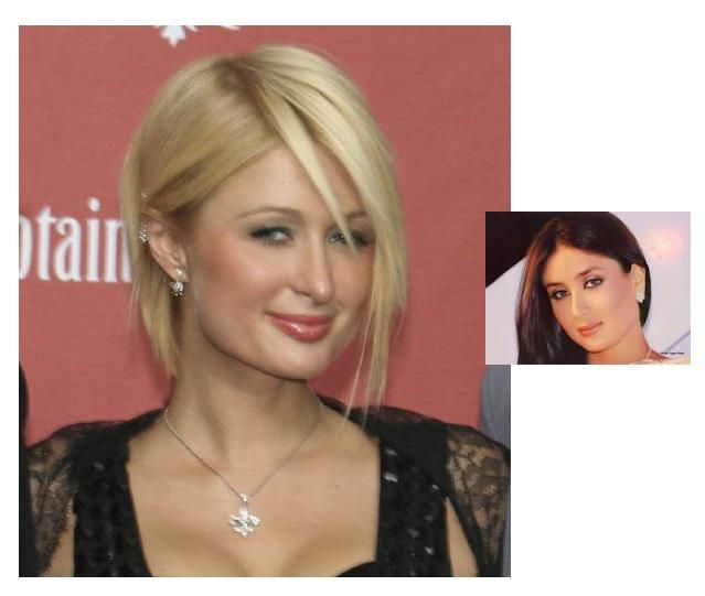 Similar Face: Paris Hilton Vs Kareena Kapoor