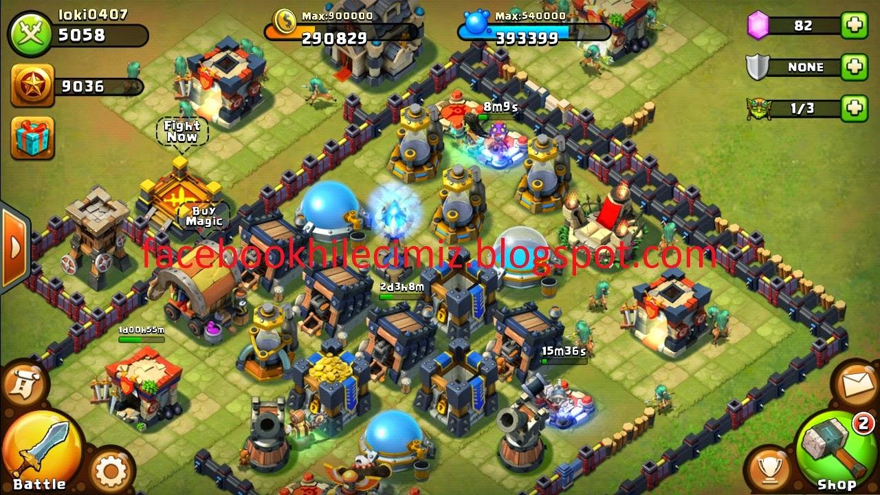 Castle clash скачать на компьютер на русском