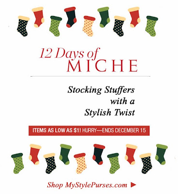 Miche 12 Days of Christmas - items as low as $1.00 at MyStylePurses.com (Ends 12/15/13)