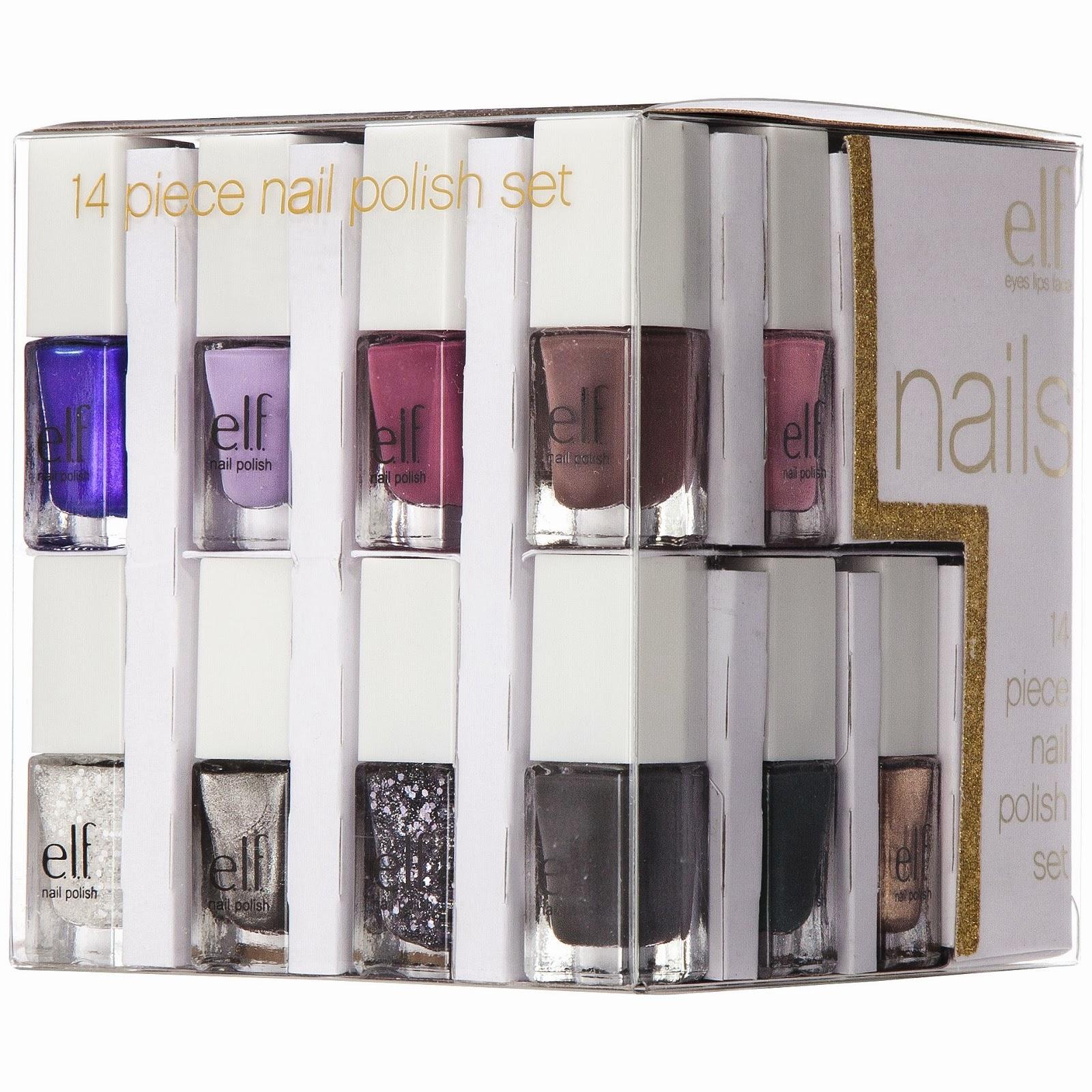 The Beauty Alchemist: e.l.f Nail Polish Cube - Holiday 2013