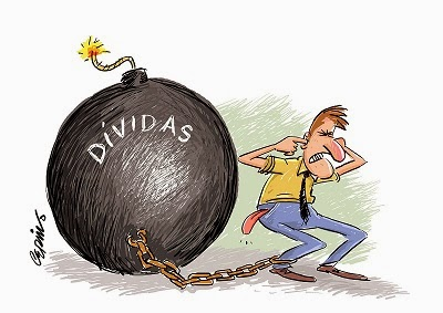 Medo das dívidas SPC/SERASA