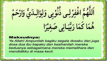 doa kepada ibu bapa