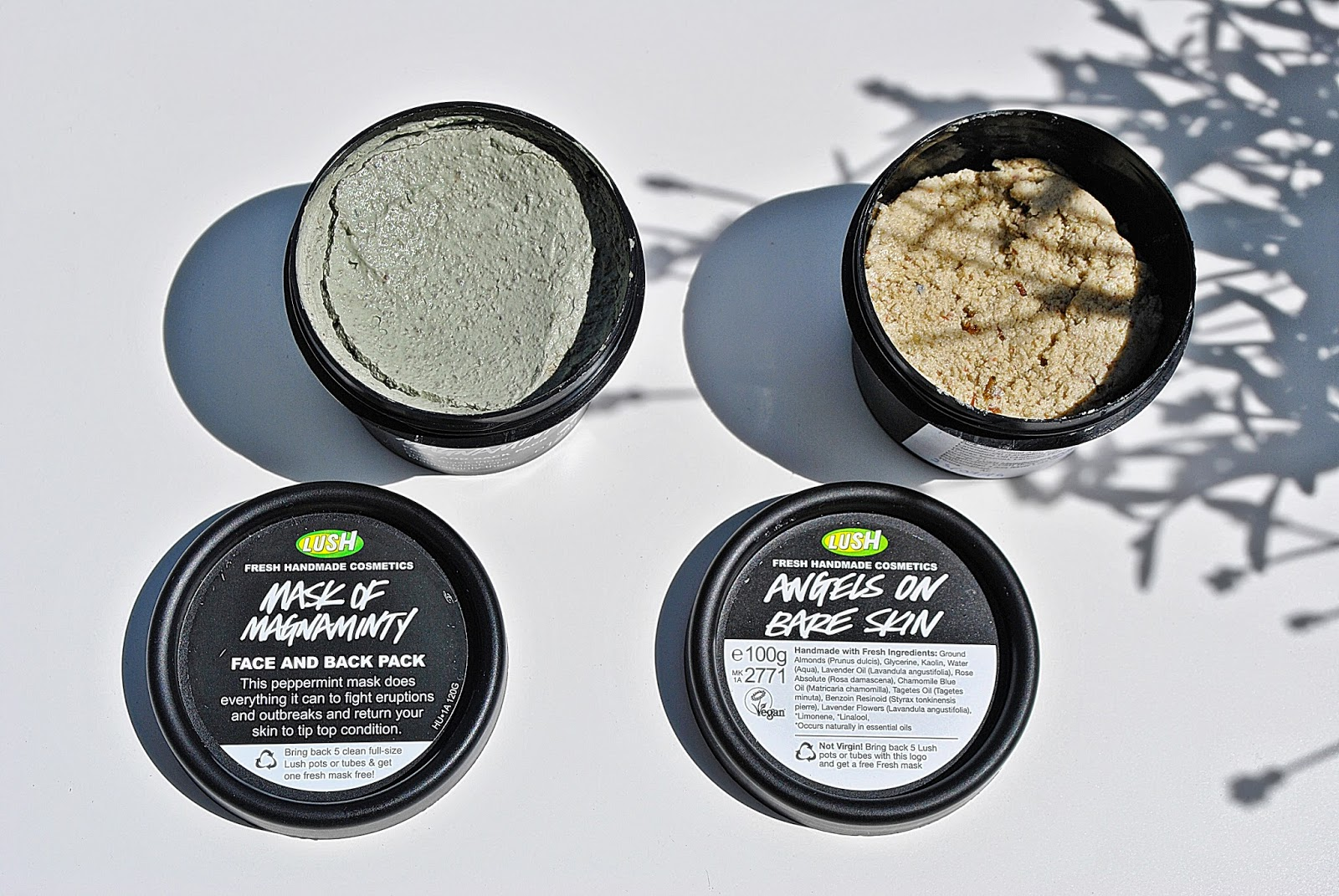 Lush, Angels On Bare Skin & Lush, Mask Of Magnaminty