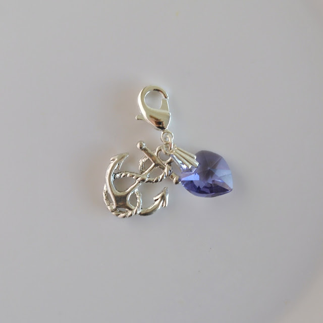 Navy Anchor Charm1