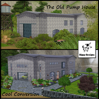 Dippy Designs: The Old Victorian Pump House on residential garage design, residential septic tank design, residential pond design, residential office design, residential boundary wall design, residential fence design, residential patio design, residential irrigation design, residential garden design, residential gate design, residential deck design, residential drainage design, residential kitchen design, residential bridge design,