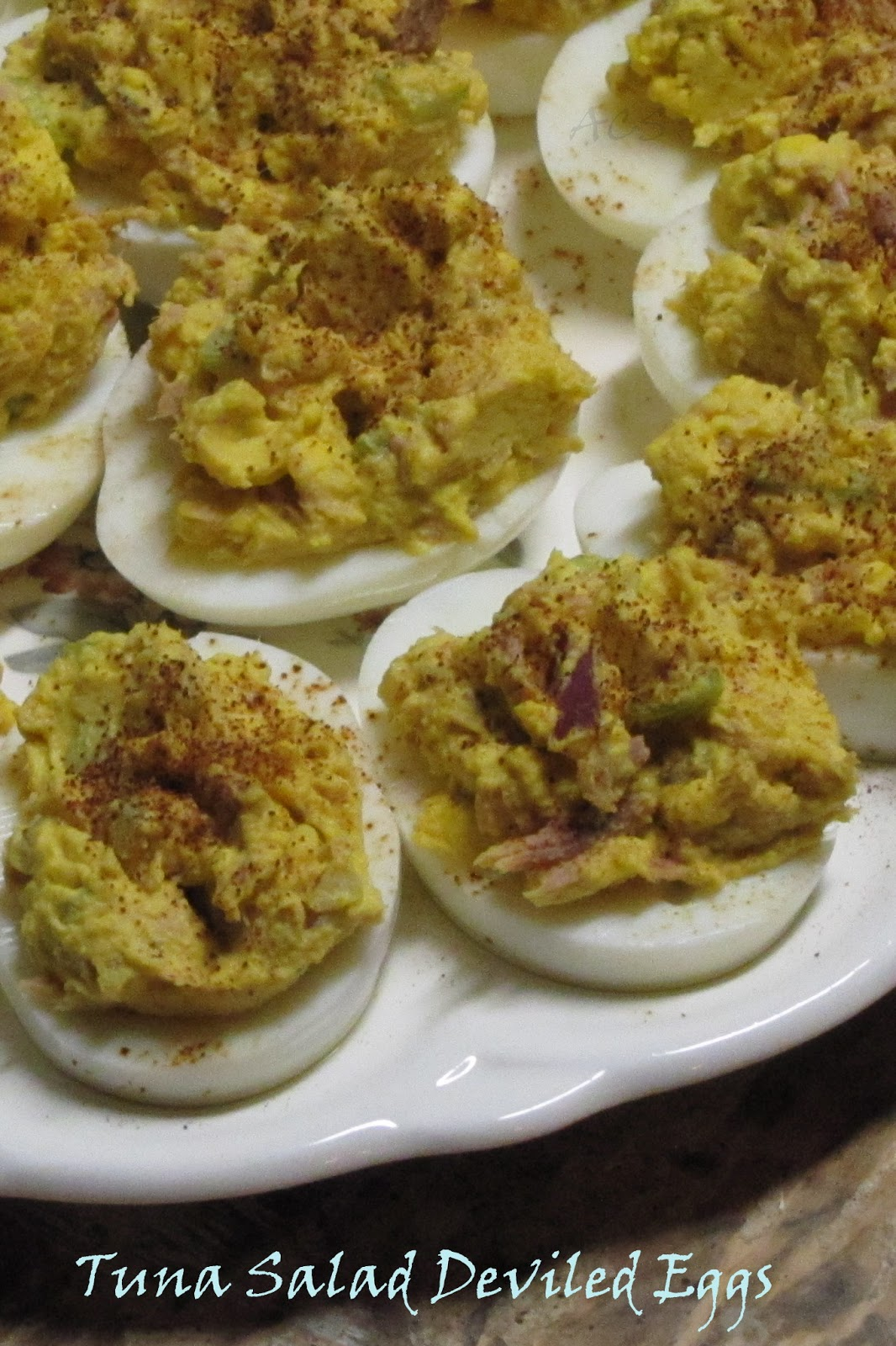 lil Country Sugar: Tuna Salad Deviled Eggs