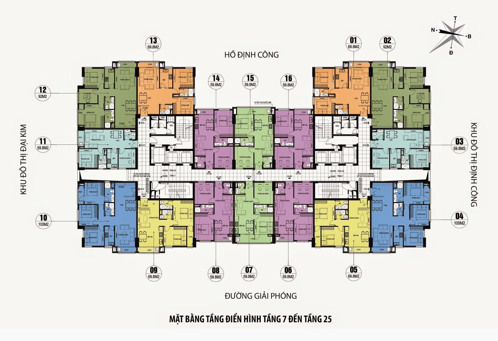 Chung Cư CT36 Dream Home - Định Công