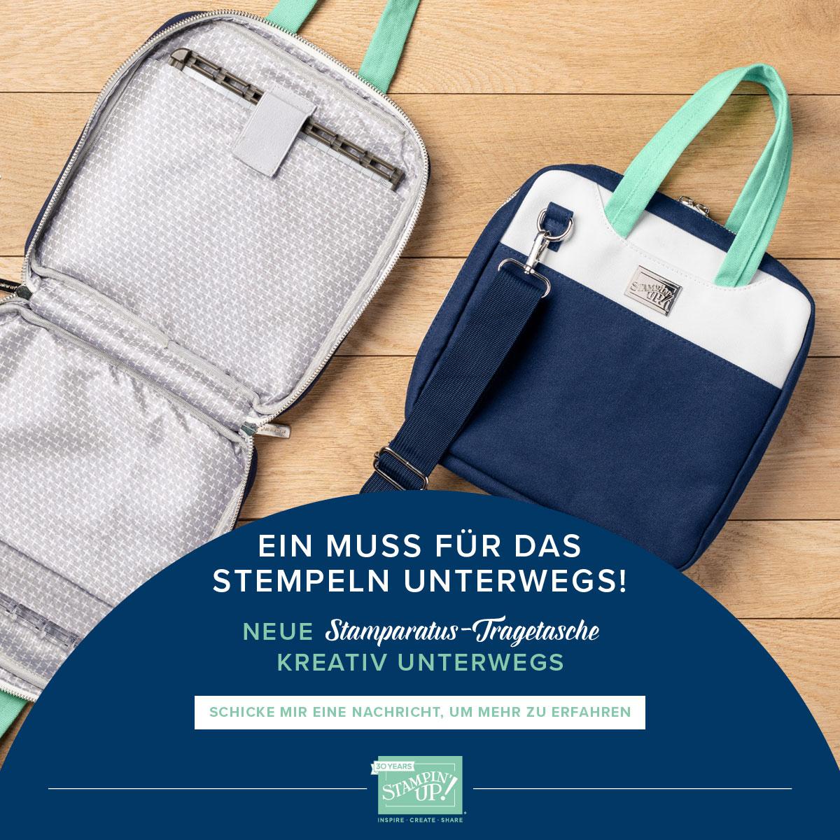 die Stamparatus-Tasche - ein Muss !