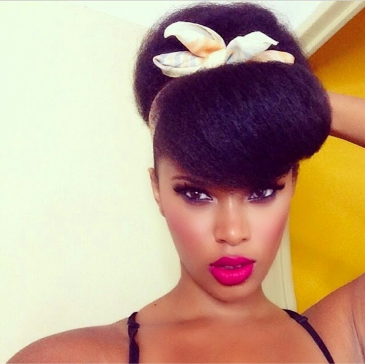 Natural hairstyle Inspiration: Holiday Edition