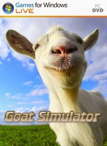 goat simulator pc game cover boxart Goat Simulator DOGE