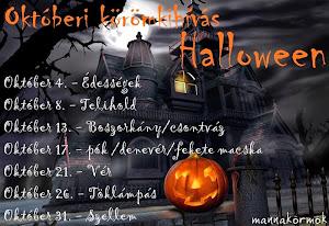Oktoberi Halloween kihívás