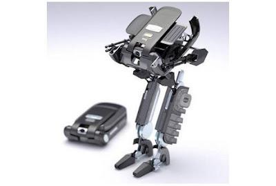 Ponsel yang dapat berubah menjadi robot - Sekitar Dunia Unik