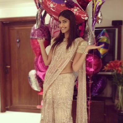 : sonam kapoor celebrating her 28th birthday