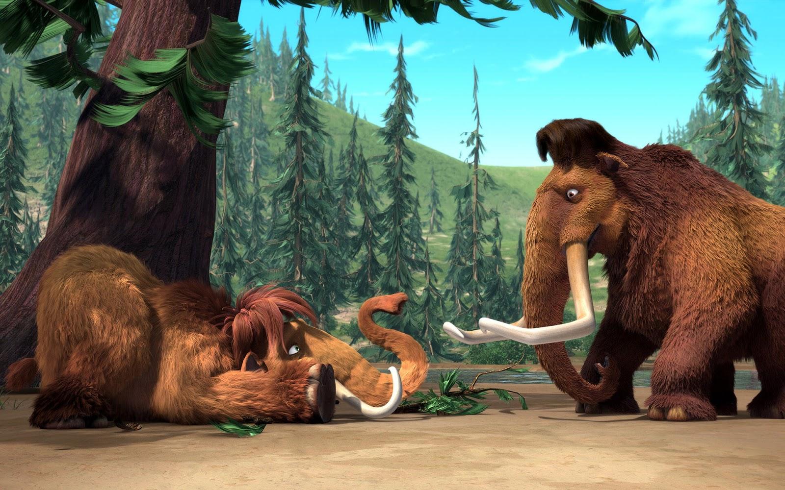 Ice Age 4 Widescreen 3D Wallpaper