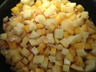 Potato, Swede and Onion Filling