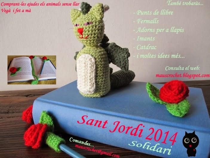 Sant Jordi 2014 by MausCrochet