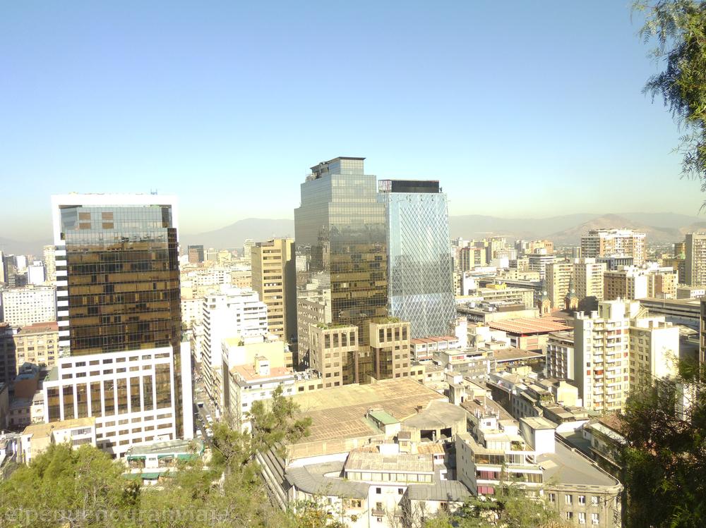 Cerro Santa Lucia, Santiago de Chile, Chile, vistas