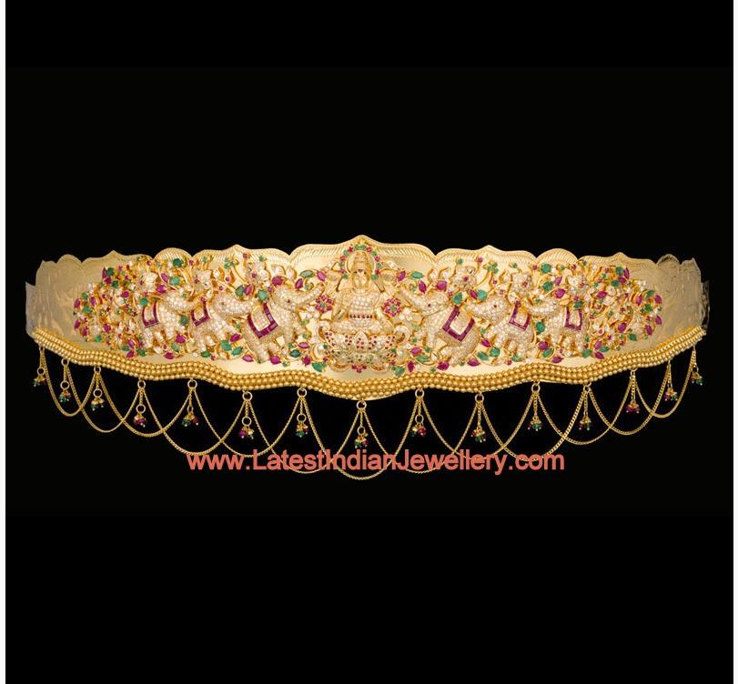 Traditional Gold Waist Belt
