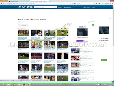Downloading Video Clips from DailyMotion - Tutorial Step 6