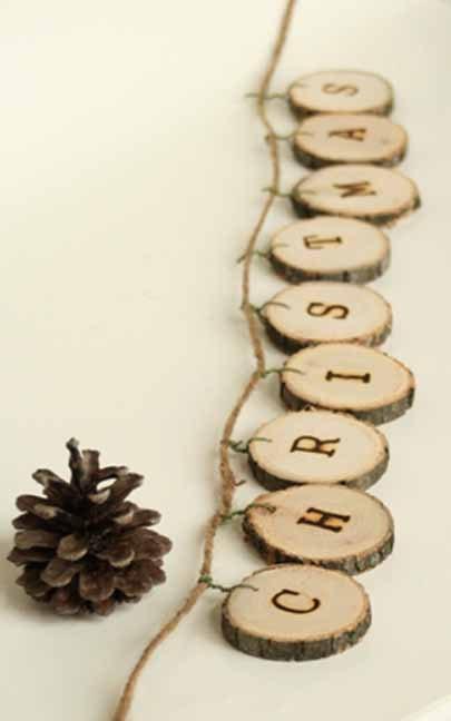 Подарки из дерева на новый год своими руками