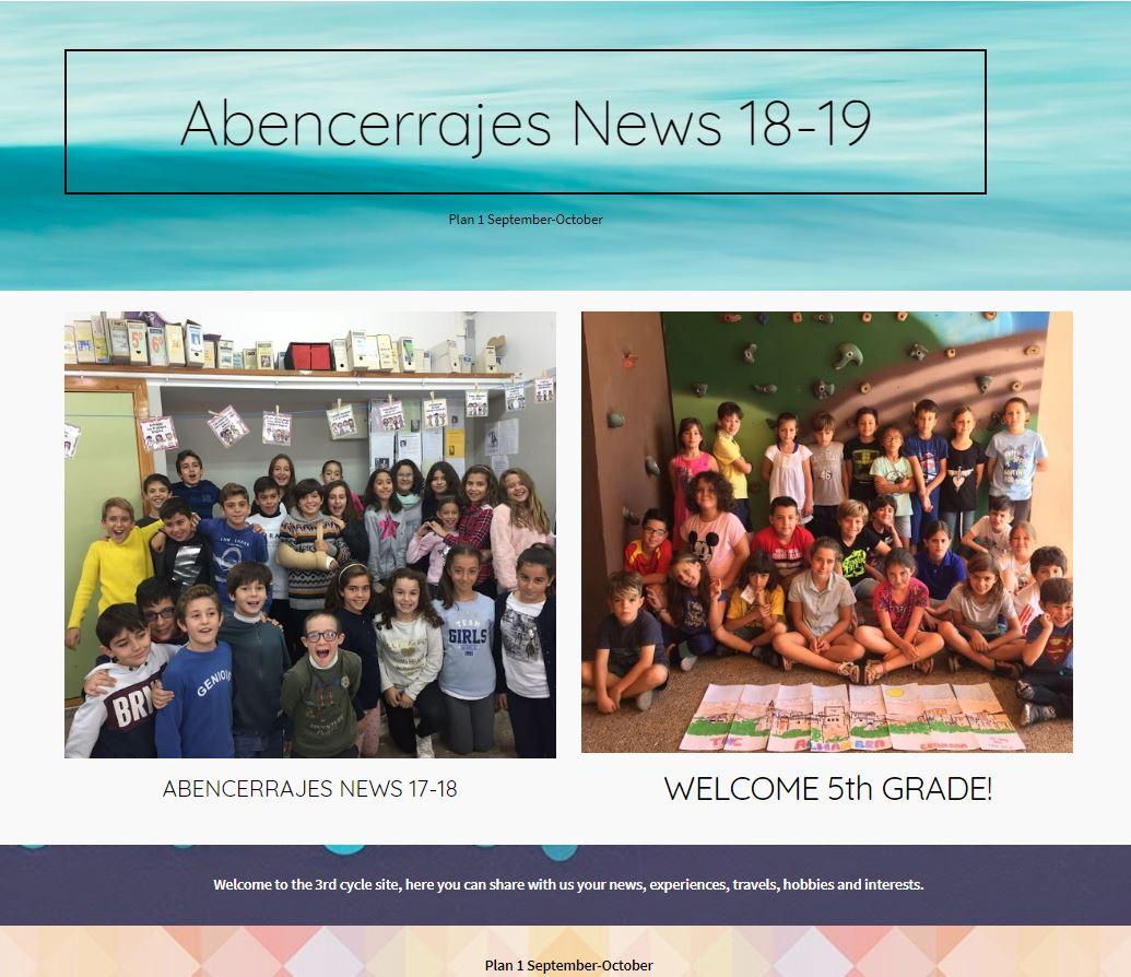 ABENCERRAJES NEWS 18-19
