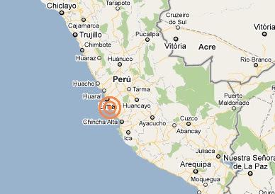 temblor hoy en lima 26 junio 2011 casi a las 7 de la mañana