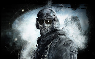Call of Duty Ghost Army Soldier Skull Mask Video Game HD Wallpaper Desktop PC Background