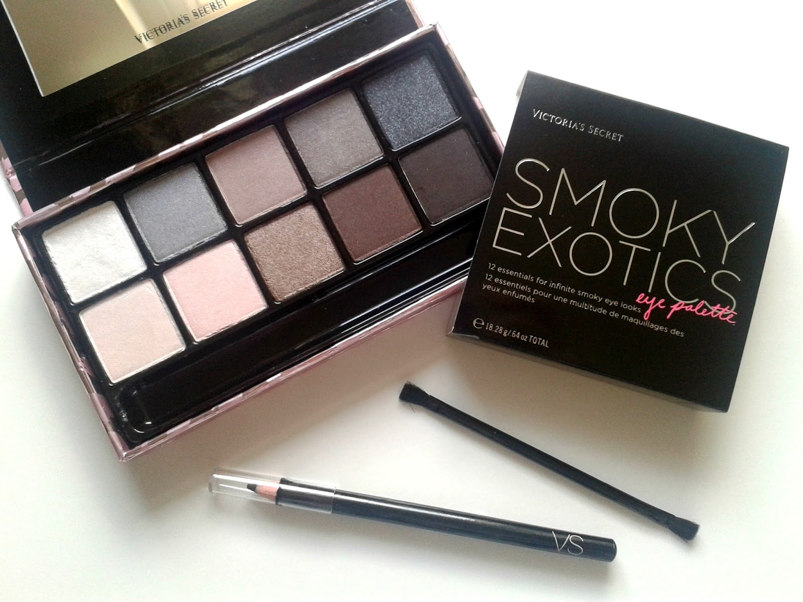 Victoria's Secret Smoky Exotics Eye Palette Beauty Review The London Perfume Company