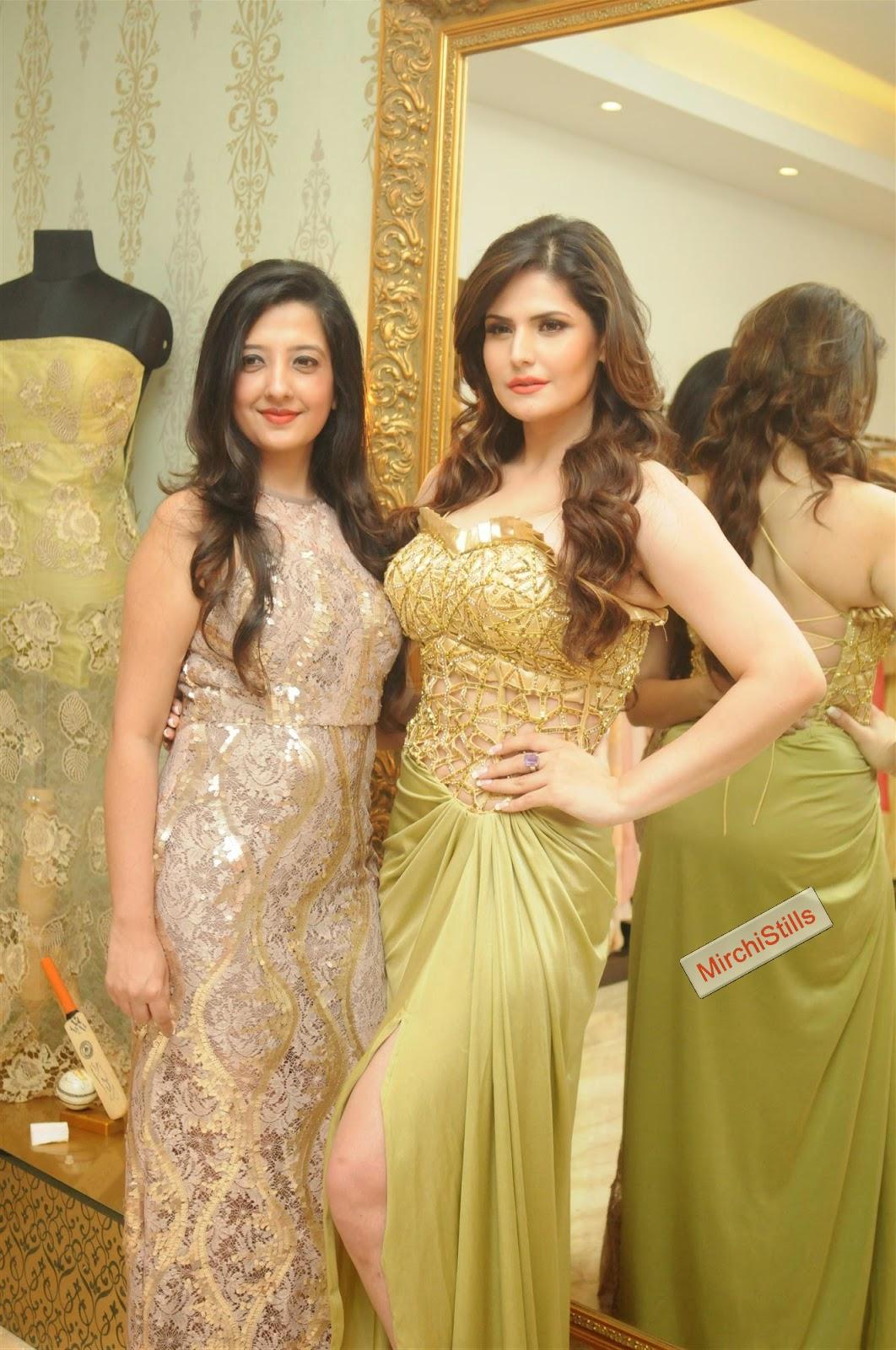 Mirchi Stills: Zarine Khan hot photos