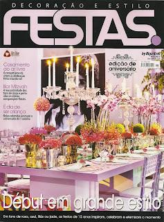 Revista FESTAS Decoração e Estilo