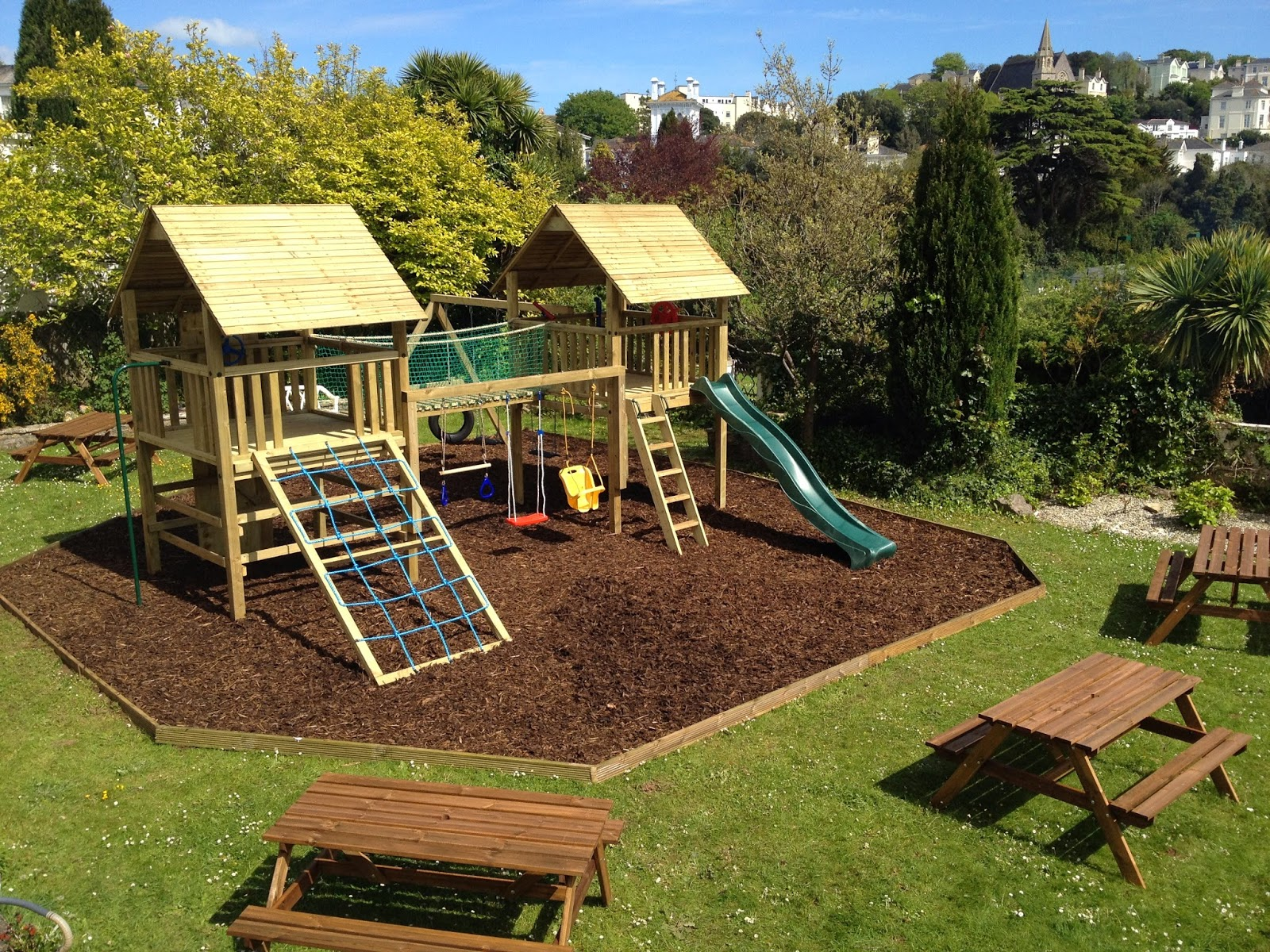 Fresh Garden News: How to Build an Outdoor Play Space for Your Young ...