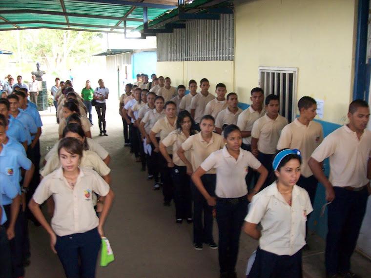 EL PRIMER DÍA DE CLASES DEL 2012
