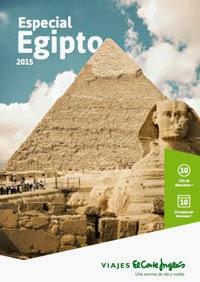 Egipto Catálogo de El Corte Inglés 2015