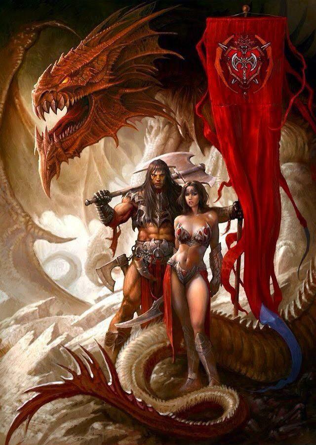 big-dragon-and-warriors