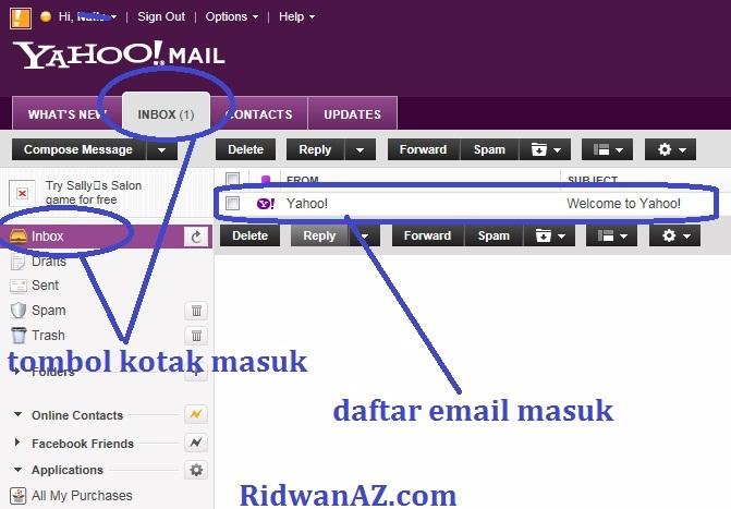 Cara Membuat | Daftar Email Yahoo