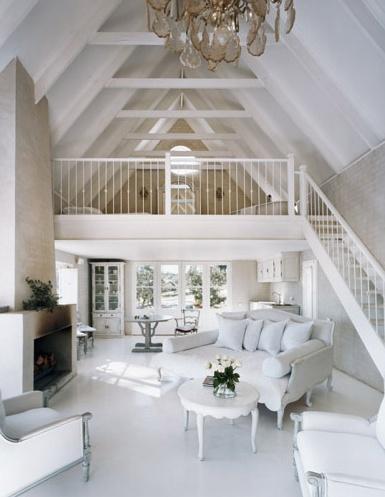Dise adora de interiores dise o de interiores blanco total - Disenadora de interiores ...